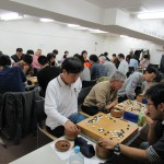 初開催!mini囲碁団体戦in初台の様子